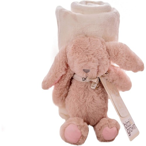 Bizzi Growin Soft Rabbit Toy Gift Set