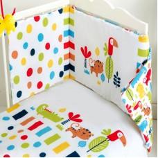 Red Kite 4 Piece Safari Cosi Cot / CotBed Bedding Set