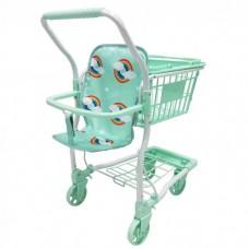 Roma Rupert Shopping Trolley - Mint