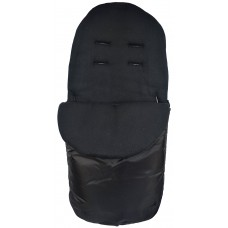 Cuddles Collection Showerproof Fleece Lined Footmuff (Black)
