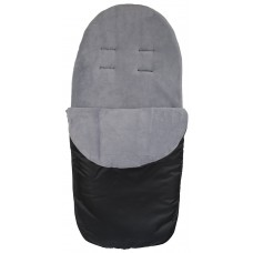 Cuddles Collection Showerproof Fleece Lined Footmuff (Grey)