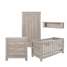Babystyle Bordeaux Ash 3 Piece Furniture Set