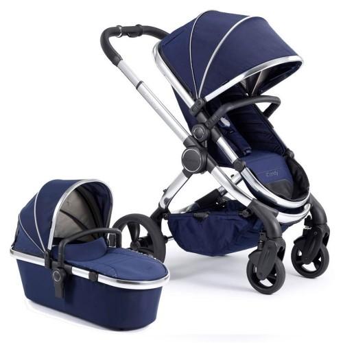 iCandy Peach Stroller & Carrycot - Chrome / Indigo