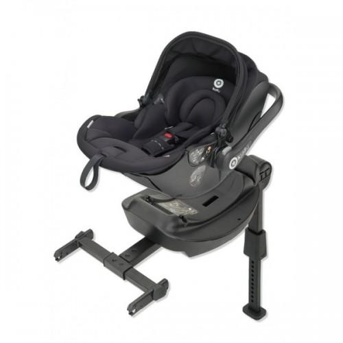 Kiddy Evo Luna i-Size Car Seat & Base-Onyx Black