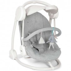 Starlite Swing with Adjustable Canopy - Grey Melange
