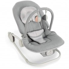 Wave Rocker Baby Bouncer Chair - Grey Melange