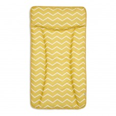 Essential Changing Mattress - Mustard Chevron