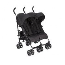 Cruise Twin Folding Buggy - Black