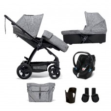 Mamas & Papas Sola² Travel System - Grey Marl