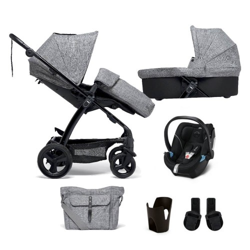 Mamas & Papas Sola² Travel System - Grey Marl