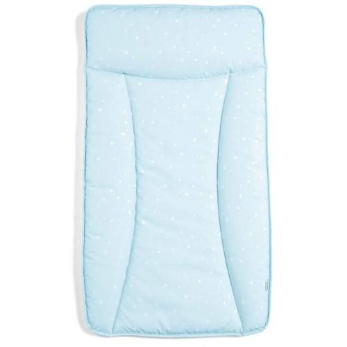 Essentials Changing Mattress - Blue Twinkle