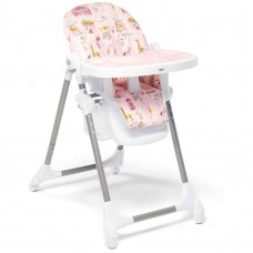 Mamas and Papas Snax Adjustable Highchair with Removable Tray Insert - Circus Pink