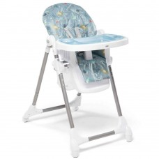 Snax Adjustable Highchair with Removable Tray Insert - Space Robots