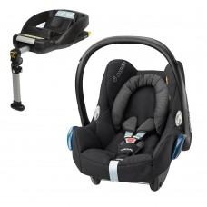 Maxi Cosi Cabriofix + EasyFix Car Seat Base - Black Raven