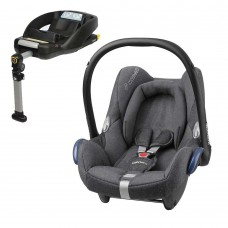 Maxi Cosi Cabriofix + EasyFix Car Seat Base - Sparkling Grey