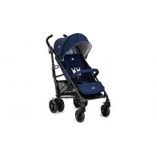 Joie Brisk LX Stroller - Midnight Navy including Footmuff