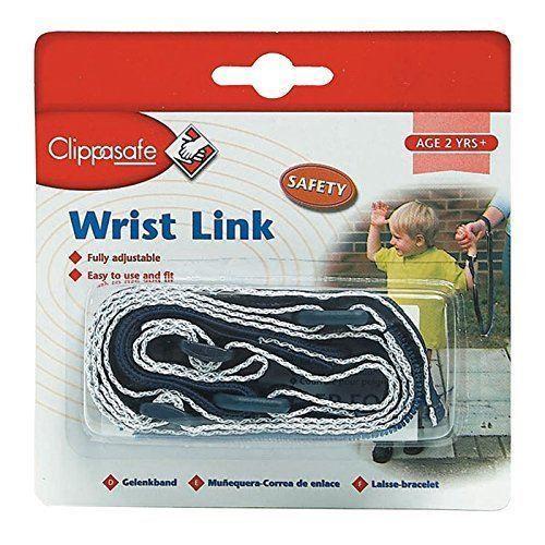 Clippasafe Wrist Link in Navy/ White