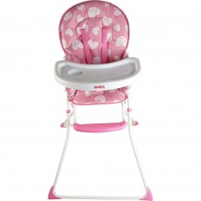 Red Kite Feed Me Compact Highchair - Pretty Kitty