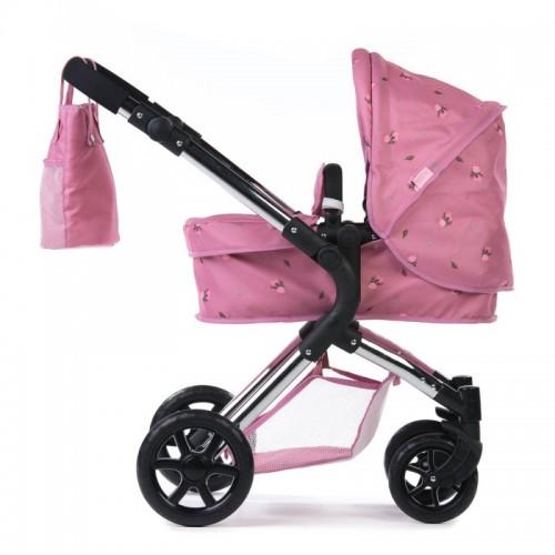 Roma Darcie Single Dolls Pram - Pink 3-9 years