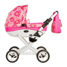 Roma Wynnie Dolls Pram- Flower Power