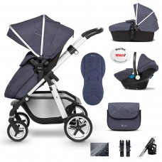 Silver Cross Pioneer 10 Piece Bundle - Midnight  **CALL FOR AMAZING PRICES**