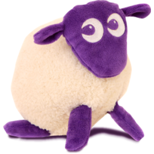 Sweet Dreamers Ewan the Dream Sheep Cream/Purple