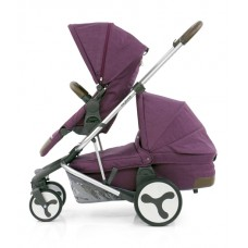 BabyStyle Hybrid Tandem Stroller-1 Carrycot-2nd seat (Orchard)