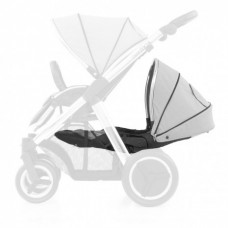 Babystyle Oyster Max 2 Lie-Flat Tandem Seat - Pure Silver