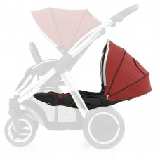 Babystyle Oyster Max 2 Lie-Flat Tandem Seat - Tango Red