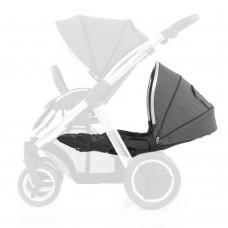 Babystyle Oyster Max 2 Lie-Flat Tandem Seat - Tungsten Grey
