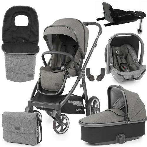 Babystyle Oyster 3 Luxury 7-Piece Bundle - City Grey Chassis/Mercury