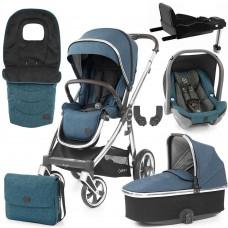 Babystyle Oyster 3 Luxury 7-Piece Bundle - Mirror Chassis/Regatta
