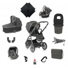 Babystyle Oyster 3 Ultimate 12 -Piece Bundle - City Grey / Pepper