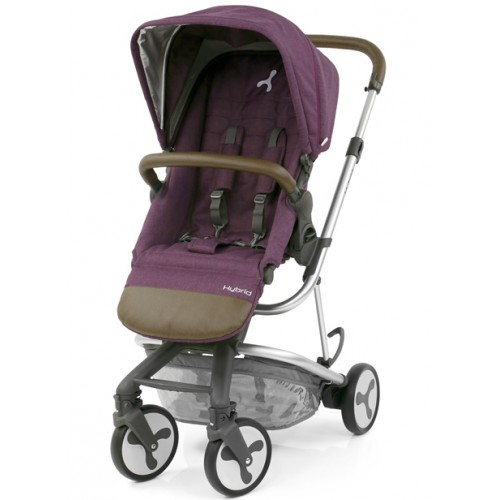 BabyStyle Hybrid City Stroller (Wild Orchid)