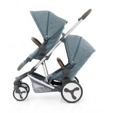 BabyStyle Hybrid Tandem Stroller (Mineral Blue)
