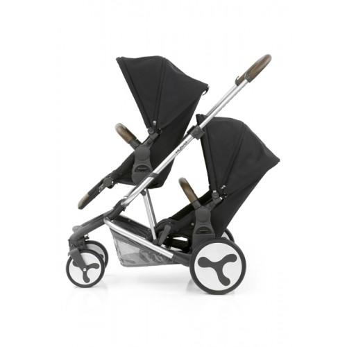 BabyStyle Hybrid Tandem Stroller (Phantom Black)