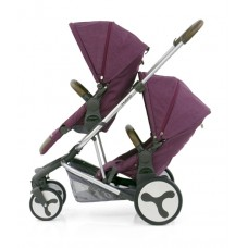 BabyStyle Hybrid Tandem Stroller (Wild Orchid)