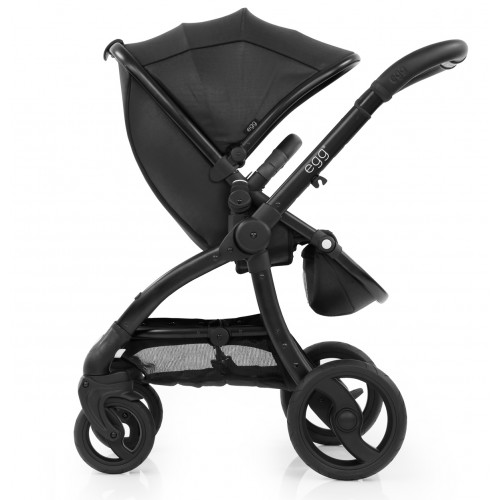 Egg Special Edition Stroller in Jurassic Black with Black Frame