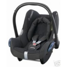 Maxi Cosi Cabriofix Car Seat in Black Raven