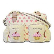Cuddles Collection Me and Mummy Cupcake Changing Bag