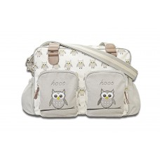 Cuddles Collection Me and Mummy Owl Changing Bag