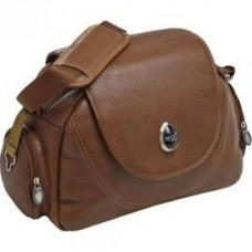 Egg Changing Bag in Tan Leather