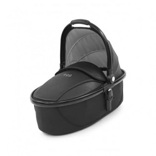 Egg Special Edition Carrycot in Jurassic Black with Black Frame