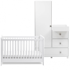 Silver Cross Soho Cot Bed and Combo Unit Set