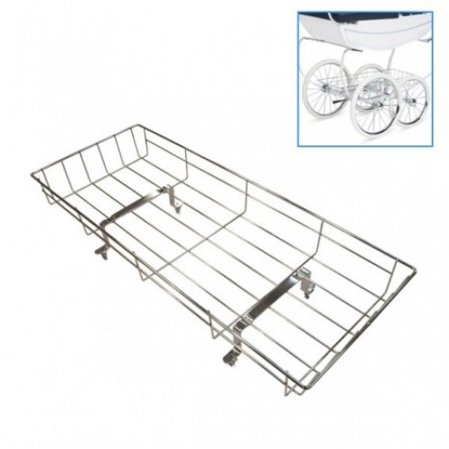 Silver Cross Dolls Shopping Tray Chrome