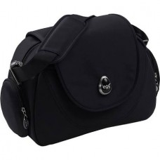 Egg Changing Bag in Gotham Black/ Espresso Black