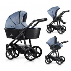 Venicci Shadow Special Edition Travel System - Midnight Blue